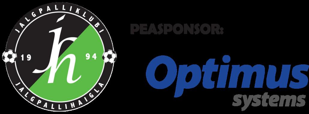 JK Jalgpallihaigla peasponsor aastast 2021 on Optimus  System AS